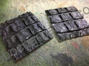 旧クロコダイルの財布リメイク3