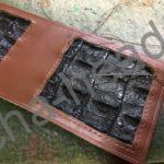 旧クロコダイルの財布リメイク4