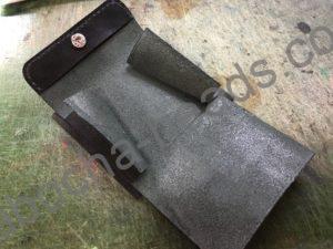 旧クロコダイルの財布リメイク5