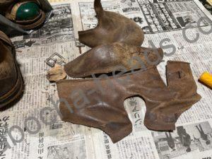 古いブーツの分解2