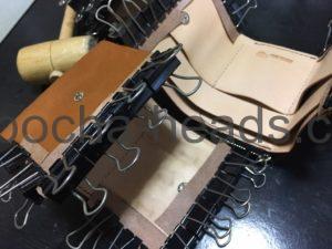 三つ折りミニ財布3パターン13