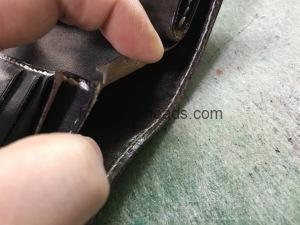 エイの財布の修理2