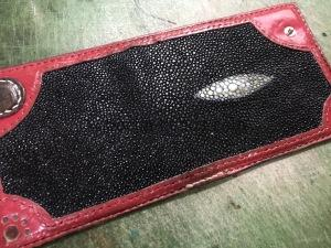 エイの財布の修理4
