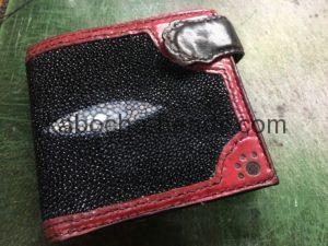 エイの財布の修理10