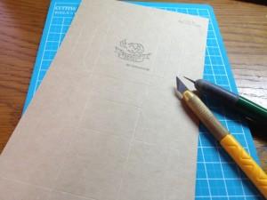 箱作り型紙