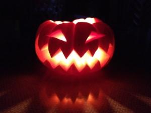 かぼちゃモンスター爆発