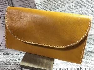 黄色い女性ものの財布