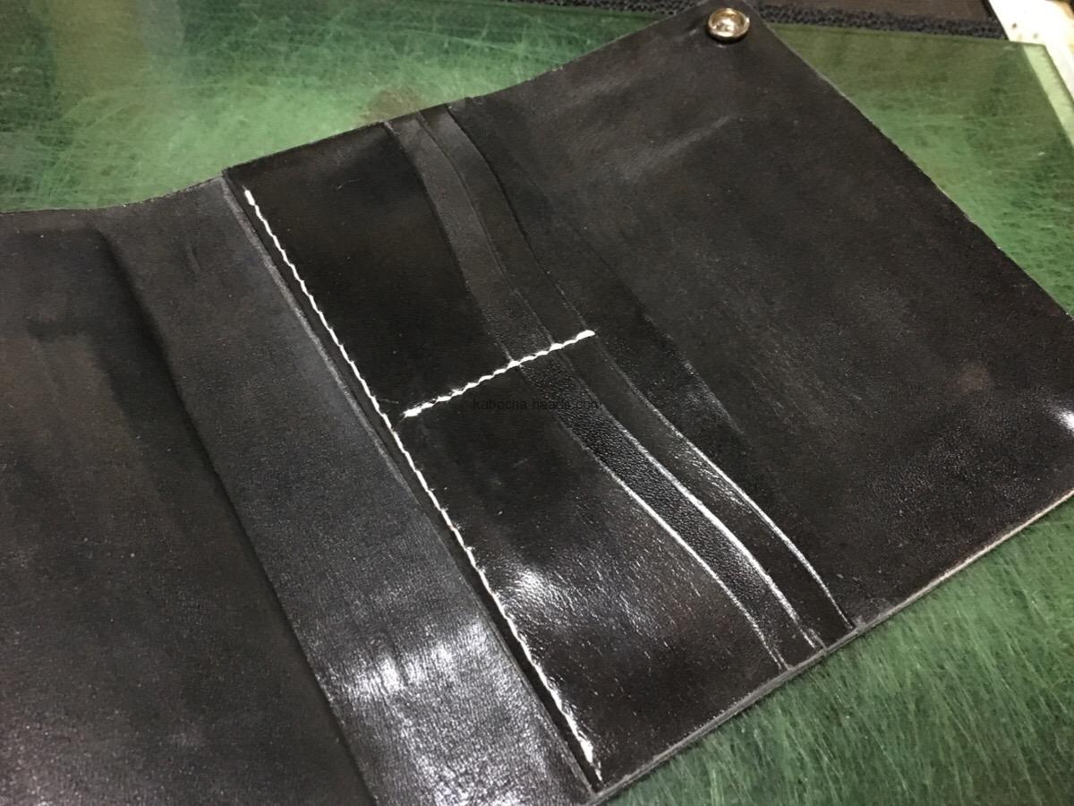 サメ×パイソンの長財布5