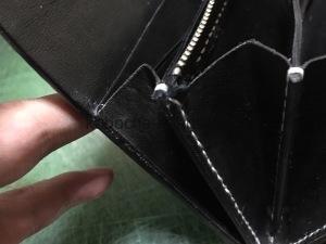 サメ×パイソンの長財布7