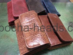 ミニ三つ折り財布8