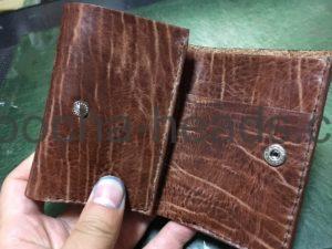 ミニ三つ折り財布9