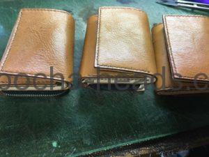 三つ折りミニ財布3パターン15