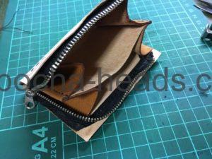 三つ折りミニ財布3パターン7