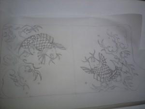 鯉のカービングの仕方01