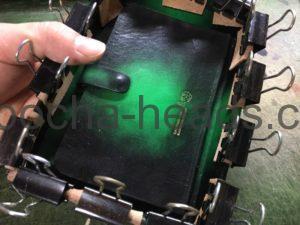 ゴシックグリーンのミニトランク8