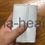 ヤギ革のカードサイズウォレット7