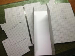 型紙を確認する