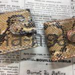 ヘビ革コンドームケース4