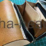 三つ折りミニ財布3パターン8